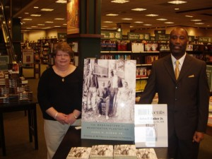 Book signing at Barnes and Noble, Evansville, IN