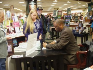 Book signing at Barnes and Noble