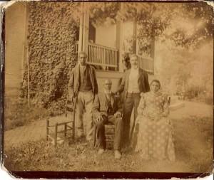 Original 1891 Wessyngton Photo