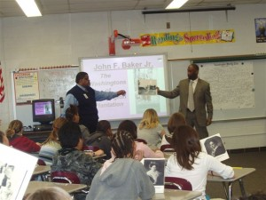 Presentation at McGary Middle School