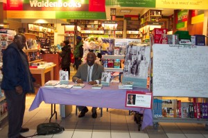 Baker at Waldenbooks