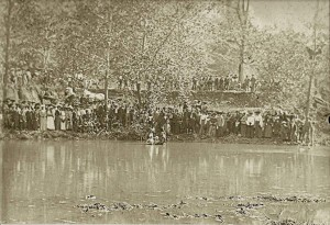 1890s Baptism in Cedar Hill, TN
