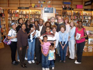Wessyngton Descendants at Borders Book Signing