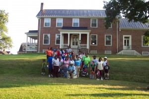 Gardner Family Tour at Wessyngton Plantation
