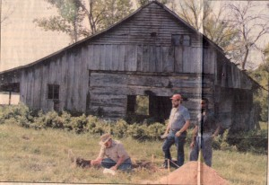 Archaeological Dig at Wessyngton Slave Cabin Site