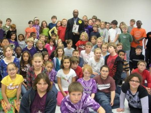 5th Grade Class at Gateview Elementary in Portland, TN