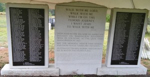 Wessyngton Monument Back